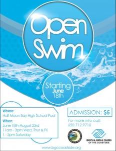 Open Swim 2014